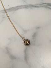 Load image into Gallery viewer, Louis Vuitton Label Necklace
