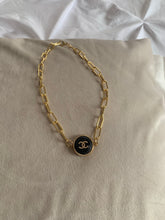 Load image into Gallery viewer, Chanel Button Choker Necklace