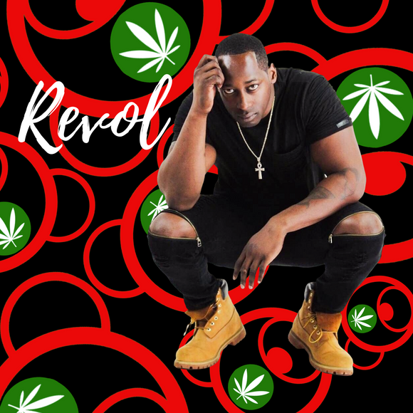 Shout-Out: Model/Recording Artist, Revol Wearing Leaf City by Teddy Blaze