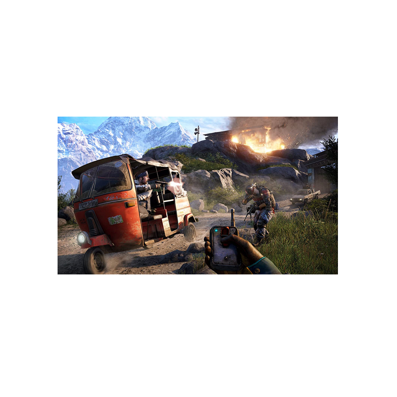 Farcry 4 PS4 Marca Sony