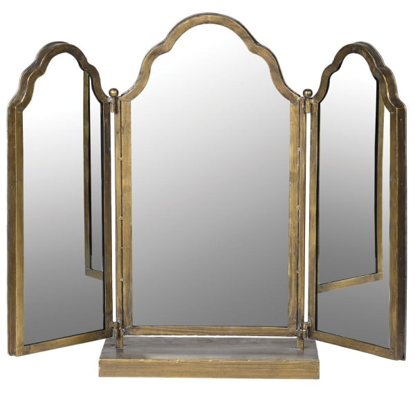 Adjustable 3 Piece Table Top Mirror