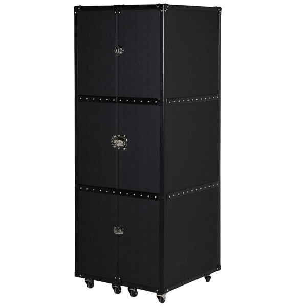 Black Garment Trunk