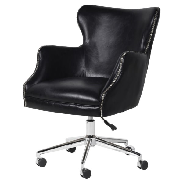 Black Nevill Office Swivel Chair