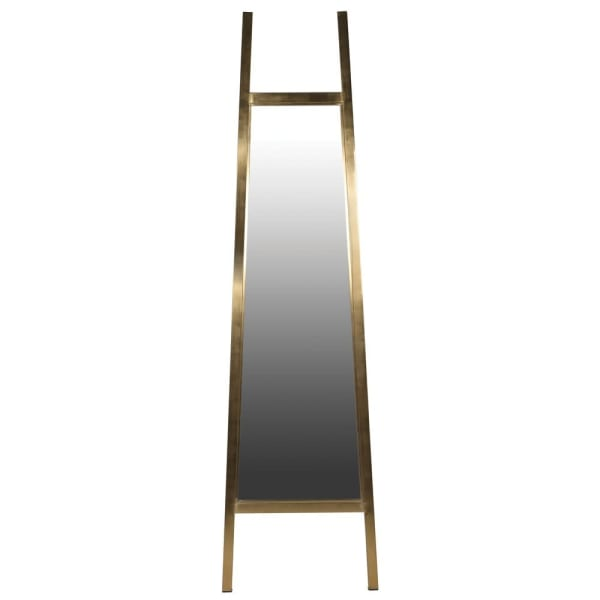 Brushed Gold Cheval Mirror