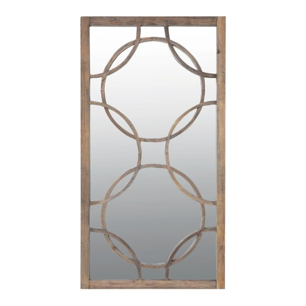 Circles Tall Rectangle Mirror