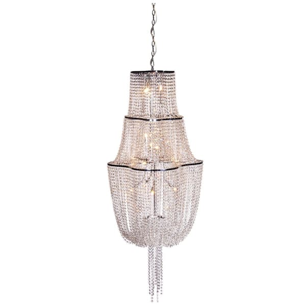 Crystal Tiered Chandelier