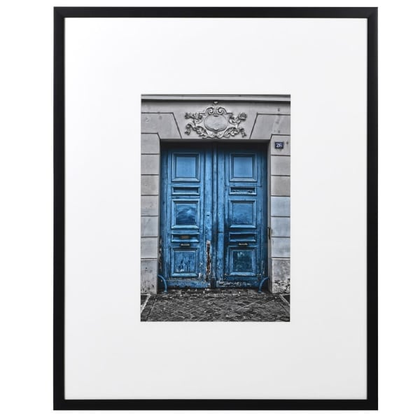 French Blue Door Picture
