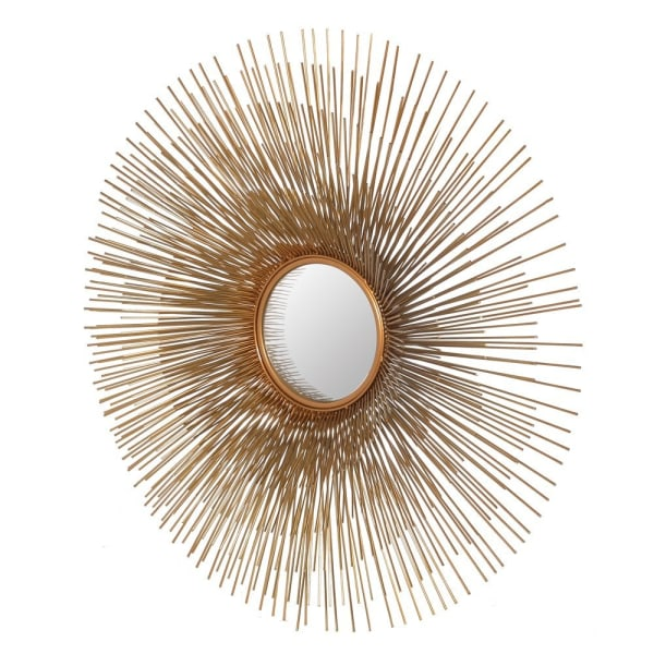Gold Porcupine Mirror