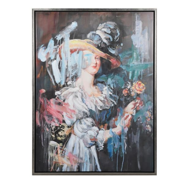Abstract Victorian Lady Picture