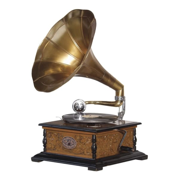 Gramophone with Horn