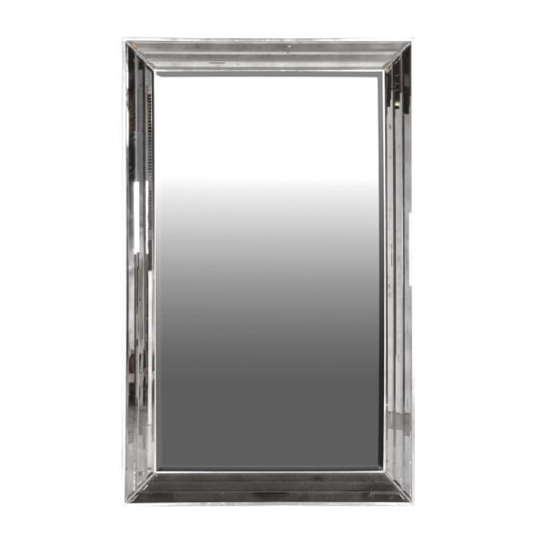 Faceted Frame Mirror