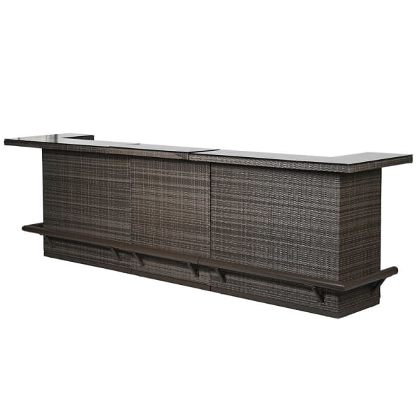 Rattan Outdoor Bar