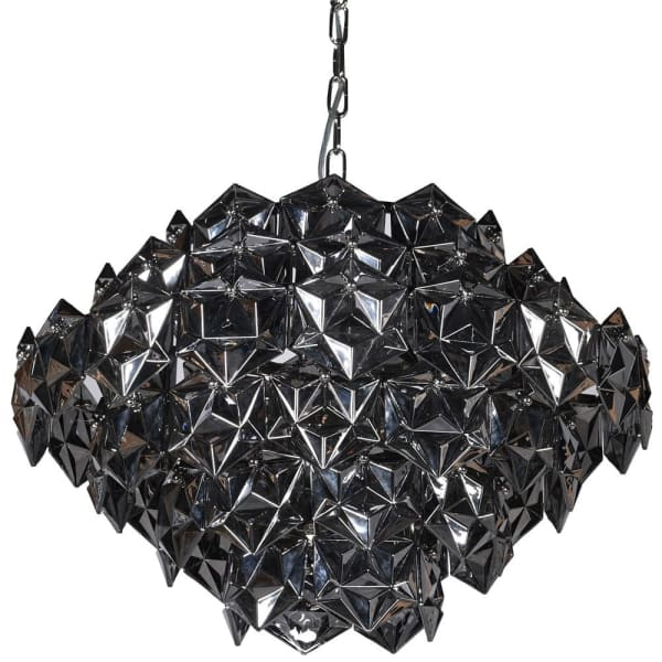 Smoked Jagged Chandelier