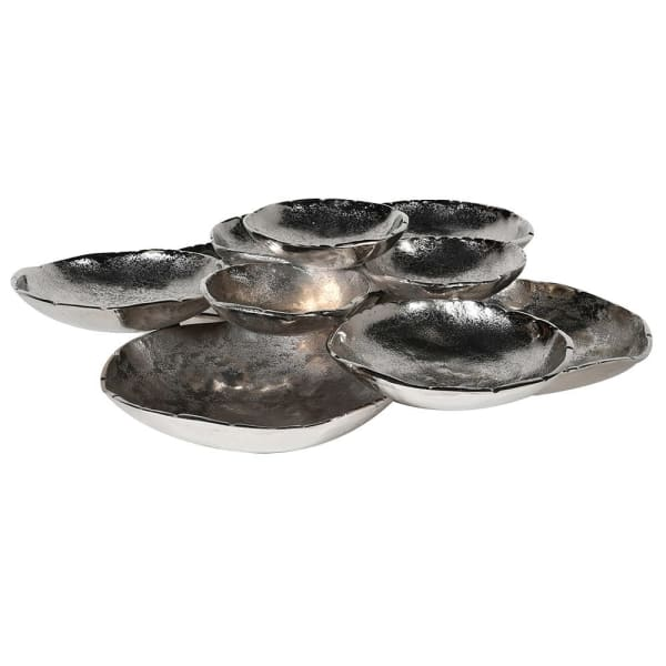 Stacked Nickle Bowls