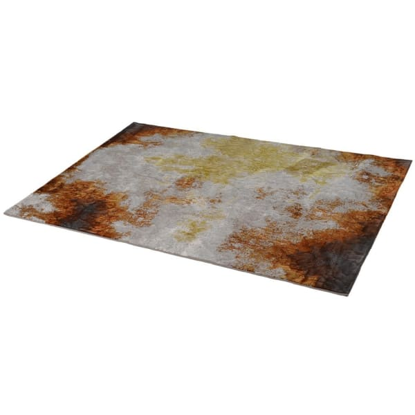 Terracotta Abstract Rug