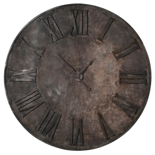 Extra Large Iron Wall Clock