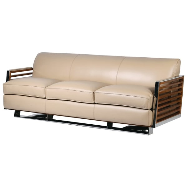 Yacht Leather 3 seater Sofa