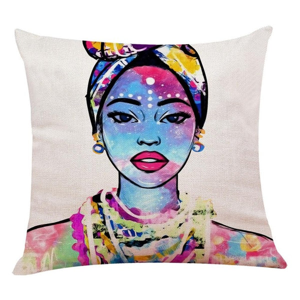 African Style Pillow Cover..