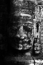 Load image into Gallery viewer, A Bayon Gaze - Metal Print