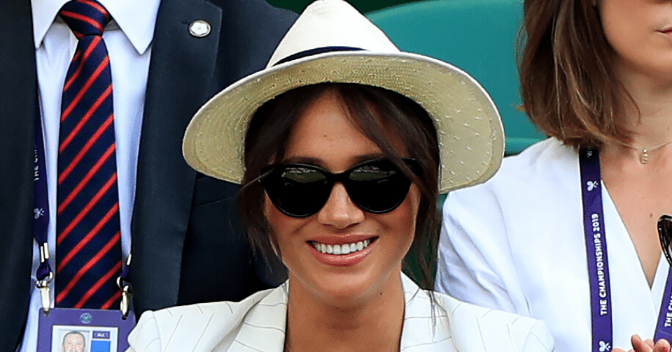 Meghan Markle Sunglasses at Wimbledon