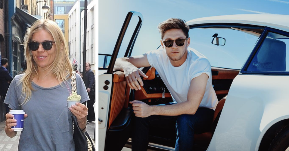 Sienna and Niall Horan Wearing  Finlay Percy Sunglasses