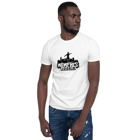 Memphis Jookin Classic Tee (Black and White)