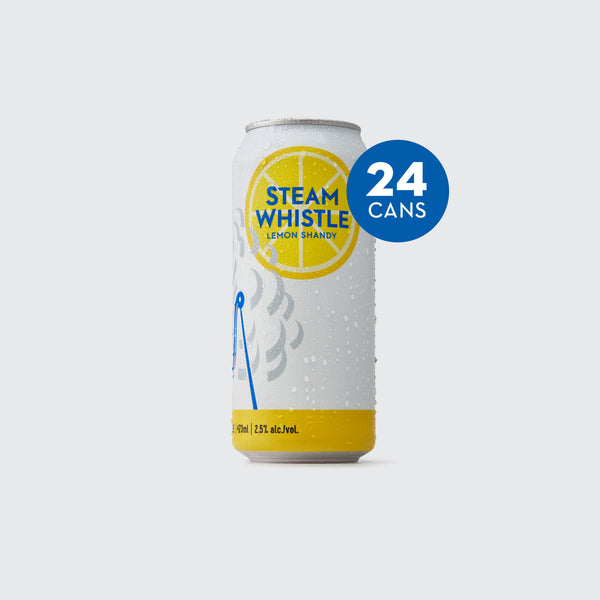 Steam Whistle Lemon Shandy 24-pack 473mL Tall Cans