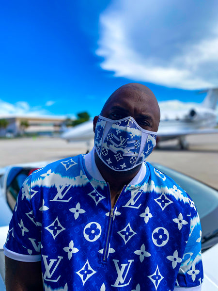 KING LOUIE MASK BLUE