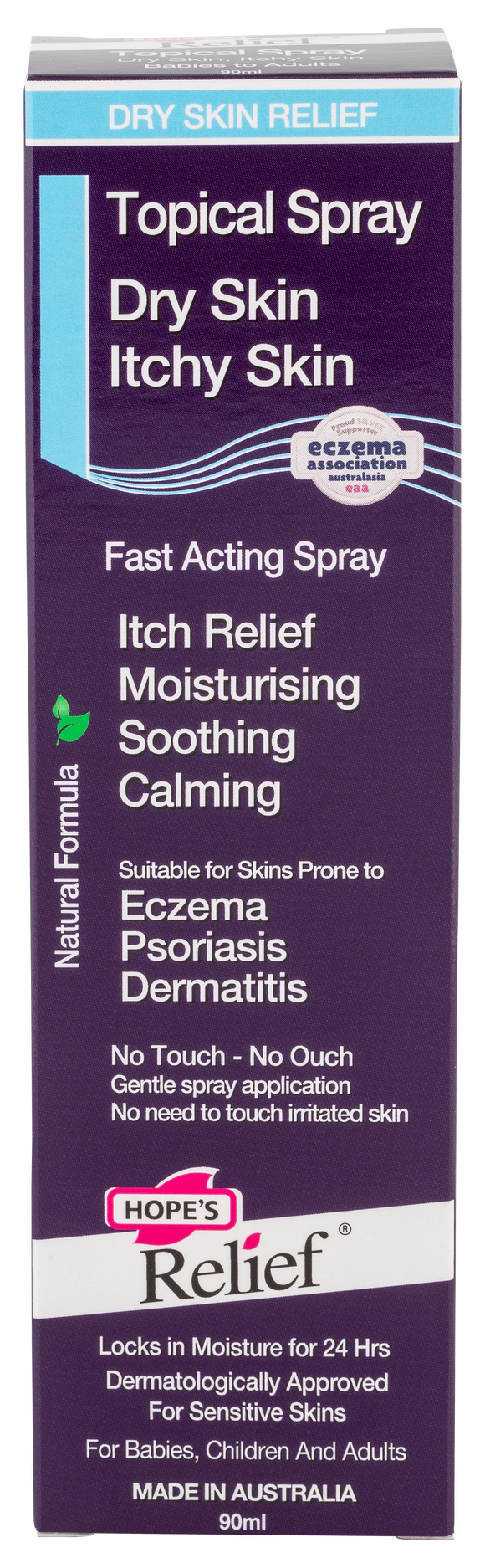 Topical Spray – natural skin hydration for Dry Skin