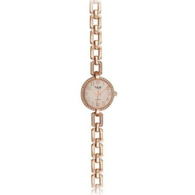 26mm Milano Expressions Chain Bracelet Watch-Women Watch-Gold as Ice