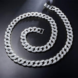 Crew 13mm Cuban Chain-Men Necklace-Gold as Ice