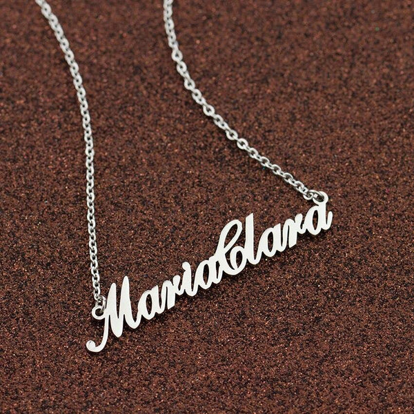 Custom Name Chain Necklace-Women Necklace-Gold as Ice