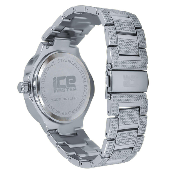 Enthral Iced Out Watch-Men Watch-Gold as Ice