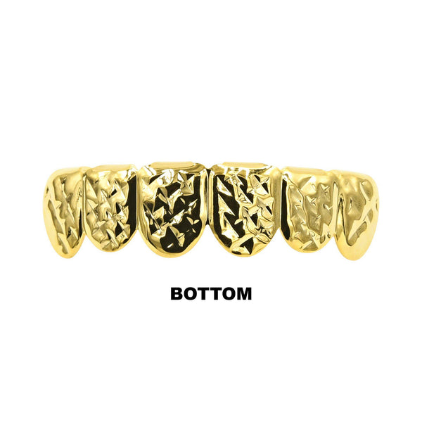 Gold Color Grillz-Grillz-Gold as Ice