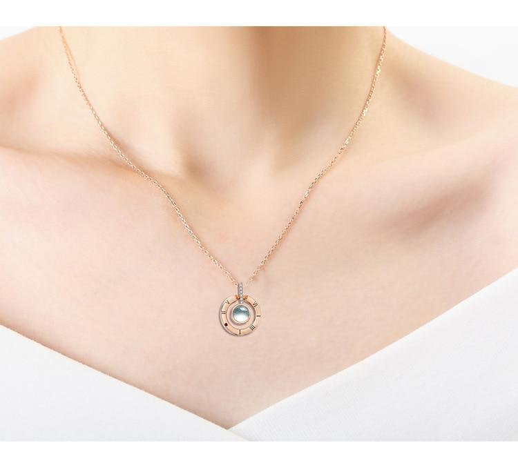Memory Of Love Necklace-Women Necklace-Gold as Ice