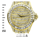 Monarch Iced Out Bling Master Watch Set-Men Watch-Gold as Ice