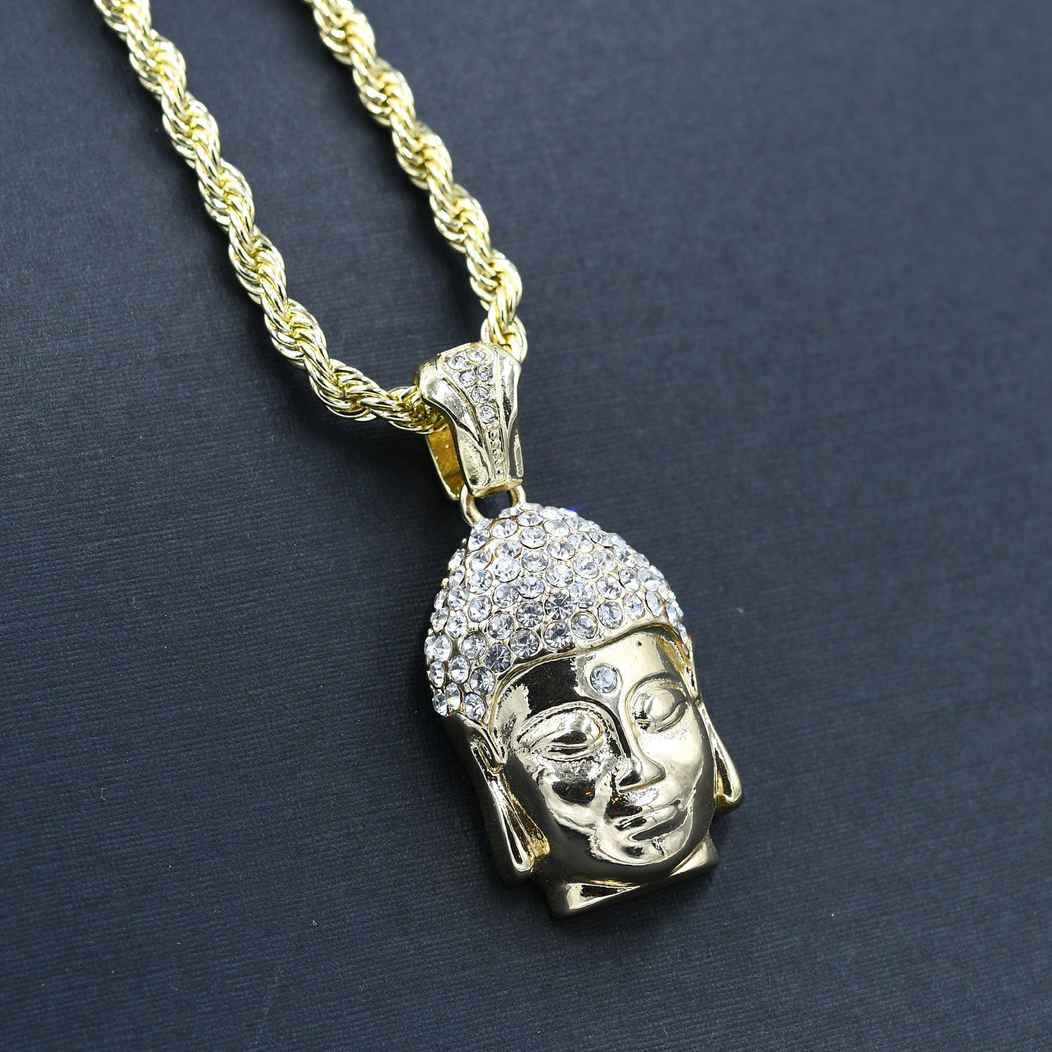 Ship Chain and Charm-Men Necklace-Gold as Ice