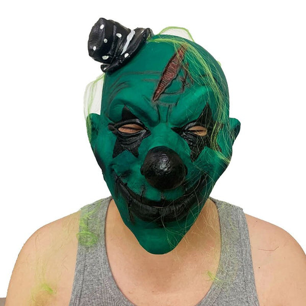 Masque Halloween clown heureux