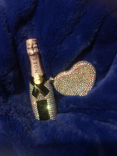 Custom 20cl Mini Moet Bling Champagne