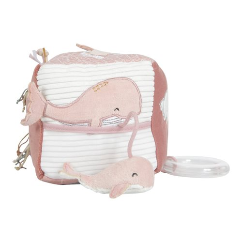 Little Dutch soft activity cube Pink