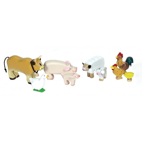 Wooden Farm Animals Toy - Le Toy Van
