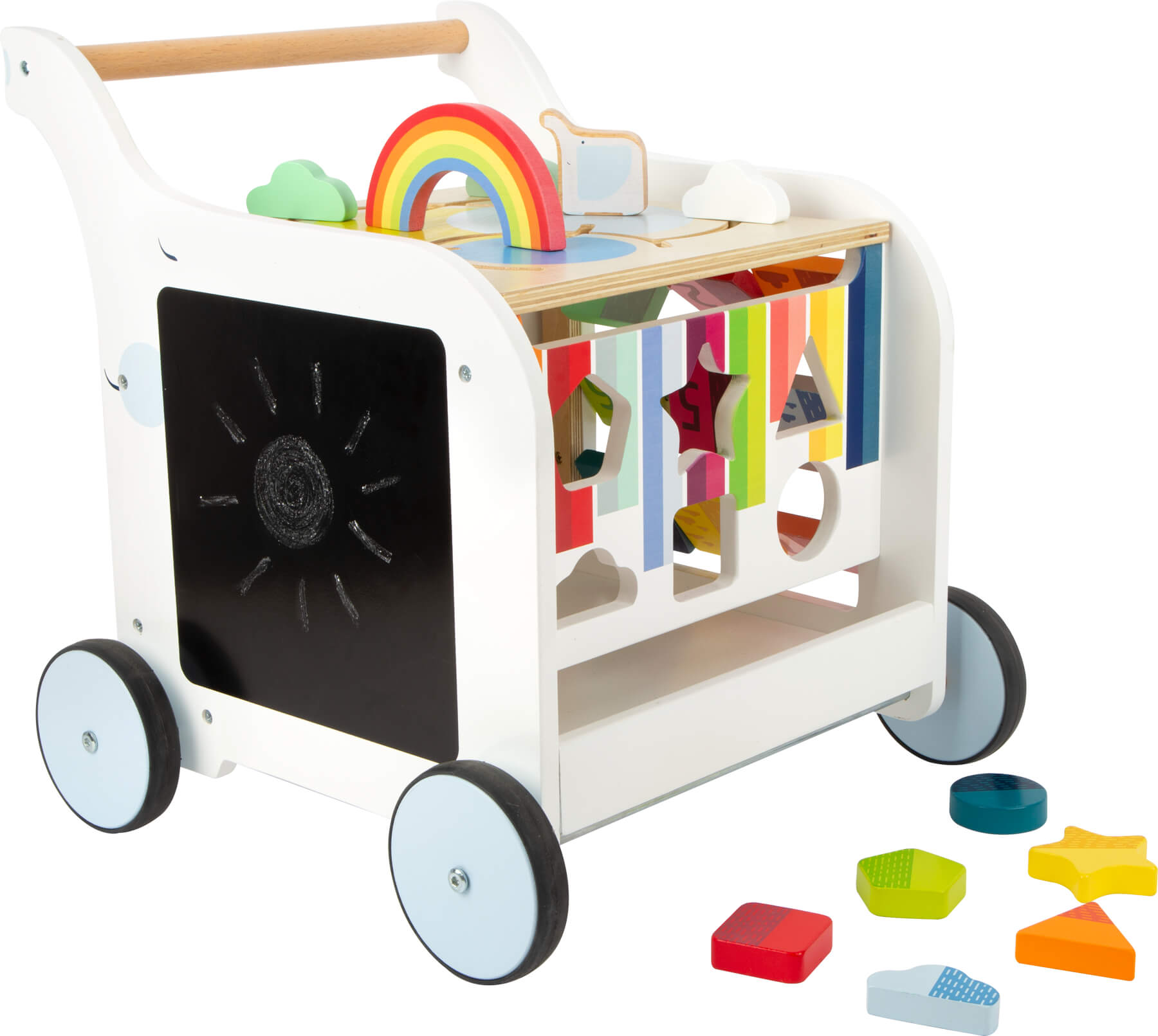 Rainbow Baby Walker — Cottage Toys