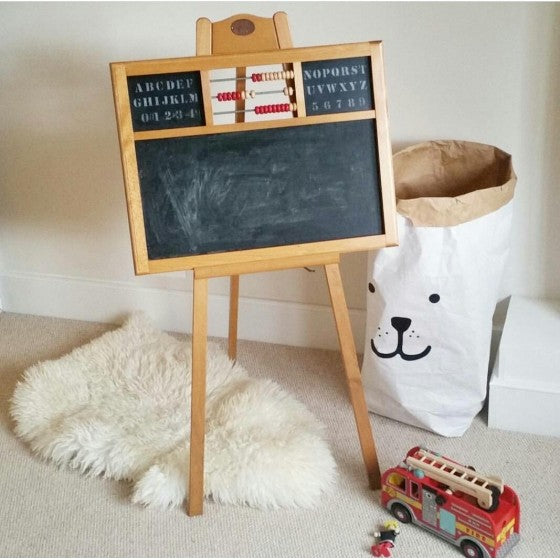 Moulin roty children's chalkboard