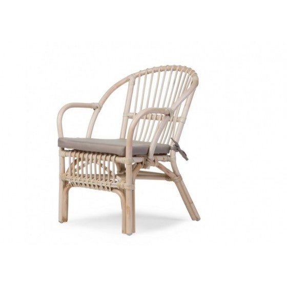Montana kids wicker chair natural