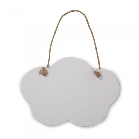 mini cloud blackboard set of 2