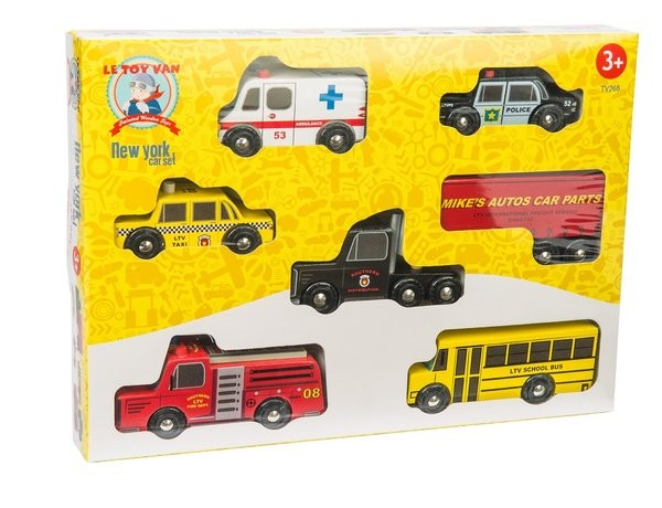 Le Toy Van New York cars