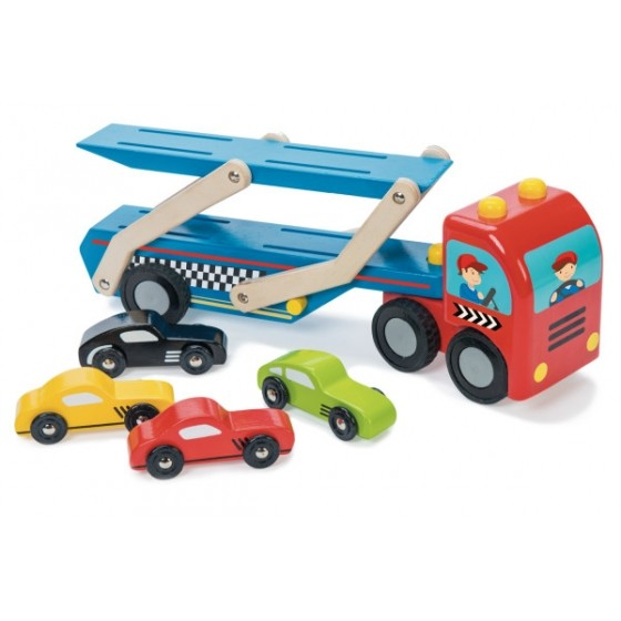 copy of Le Toy Van Race Car Transporter Set