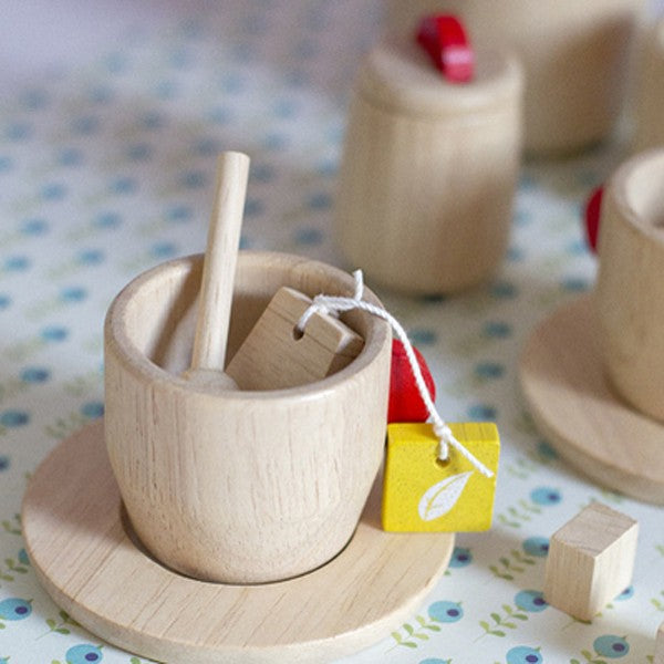 Wooden tea set Plan Toys