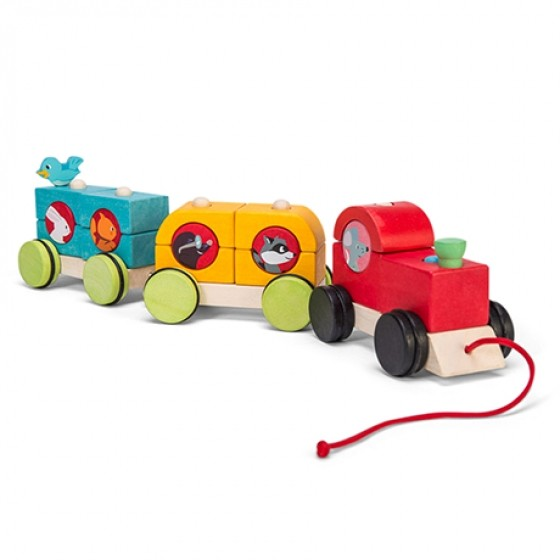 Petilou stacking train Woodland Express