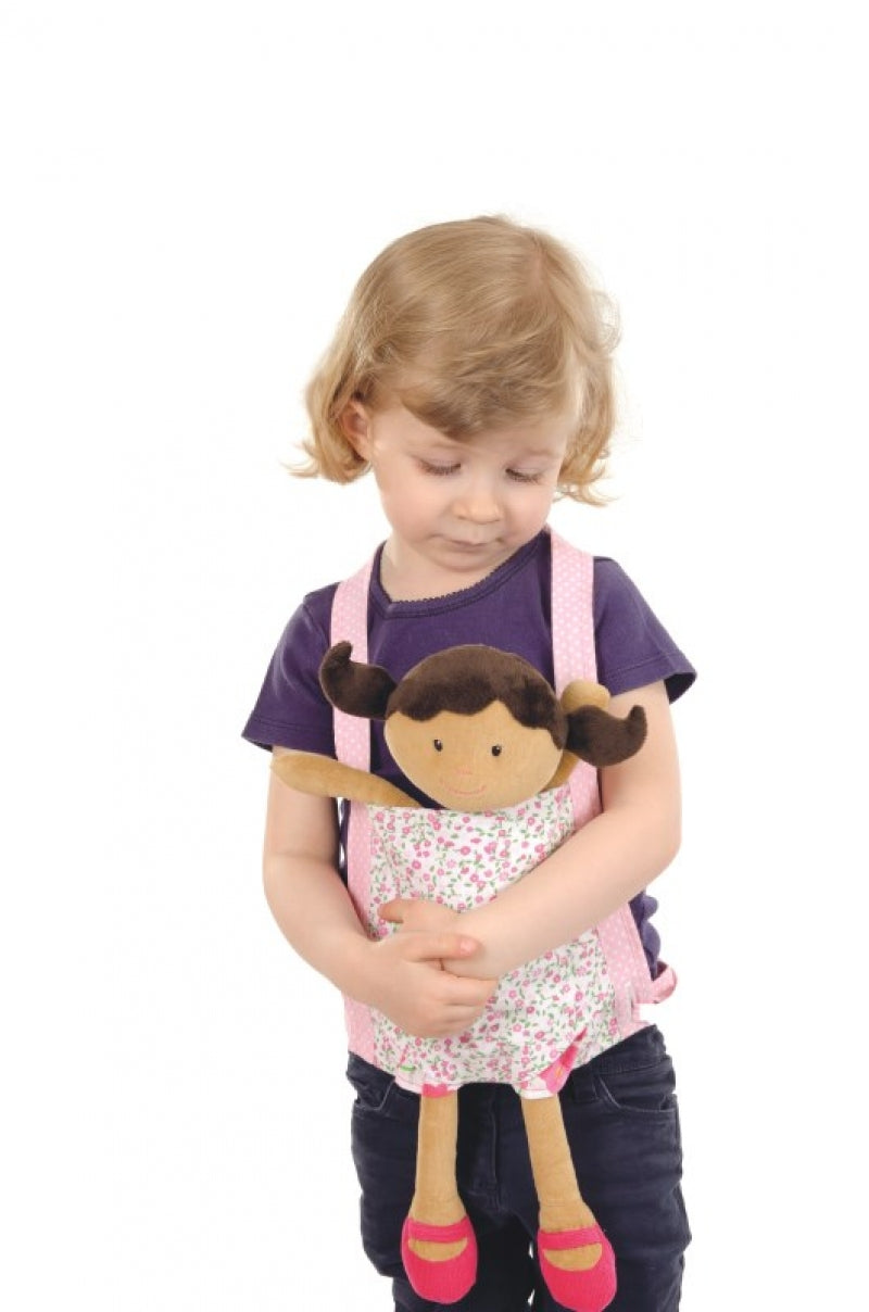 Egmont doll Baby carrier with Flowers